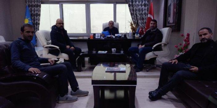 İYİ Parti Van İl Başkanlığı, Karayolları Genel Müdürlüğü işçilerinin mağduriyetini duyurdu