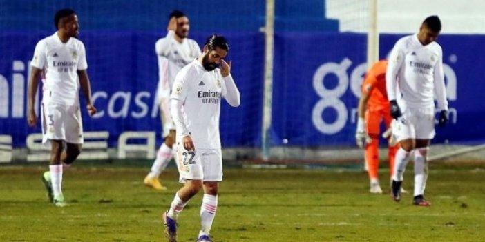 Real Madrid 3. lig takımına yenildi