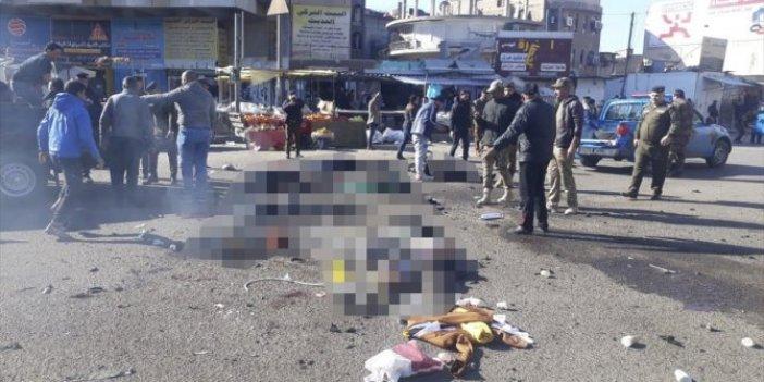 Bağdat'ın merkezinde patlama. Çok sayıda ölü ve yaralı var