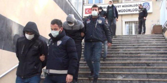 Fatih'te cüzdan farelerini polis yakaladı