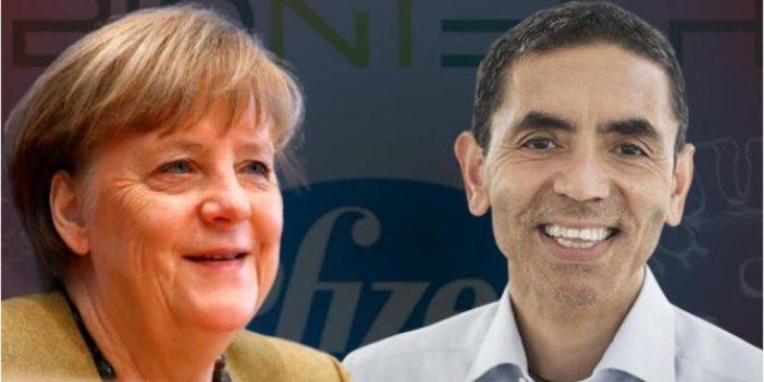Almanya Başbakanı Merkel'den flaş Uğur Şahin açıklaması