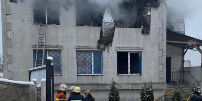 Ukrayna'da huzurevinde facia