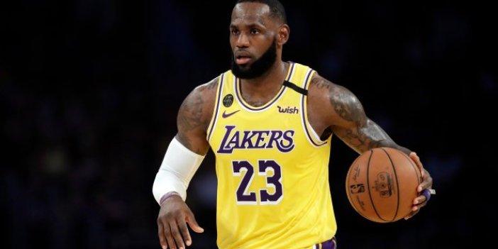 Los Angeles Lakers, Bucks'ı devirdi. Lebron James takımı sırtladı