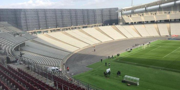 Atatürk Olimpiyat Stadı'nın merakla beklenen son hali böyle görüntülendi