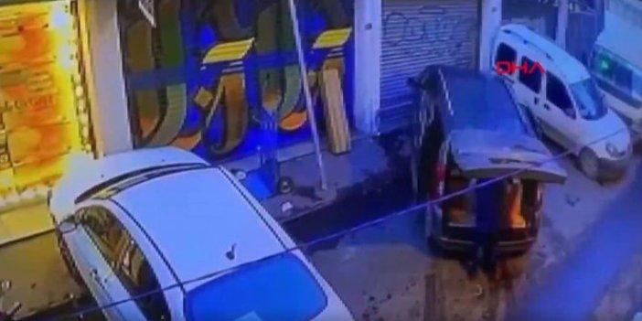 Beyoğlu'nda bagaj kopartan olay