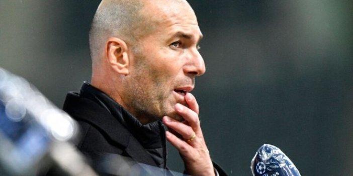 Zinedine Zidane'dan kötü haber