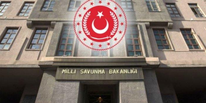 Milli Savunma Bakanlığı 4 PKK'lı teröristin etkisiz hale getirildiğini açıkladı