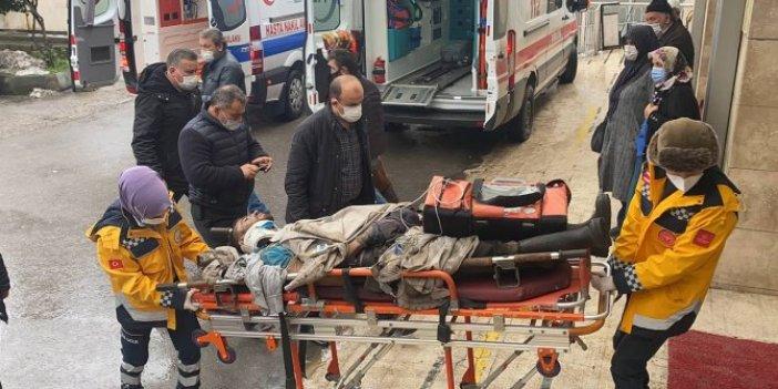 Zonguldak'ta başına taş üşen maden işçisi yaralandı