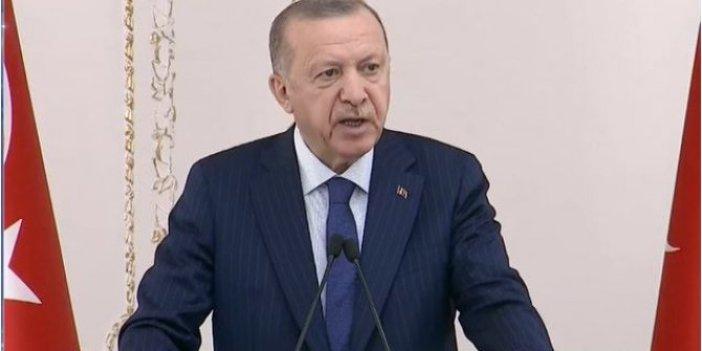 Erdoğan, TÜGİK buluşmasında konuştu