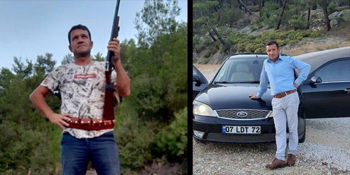 Tüfeği tutukluk yapan adam kendini vurdu