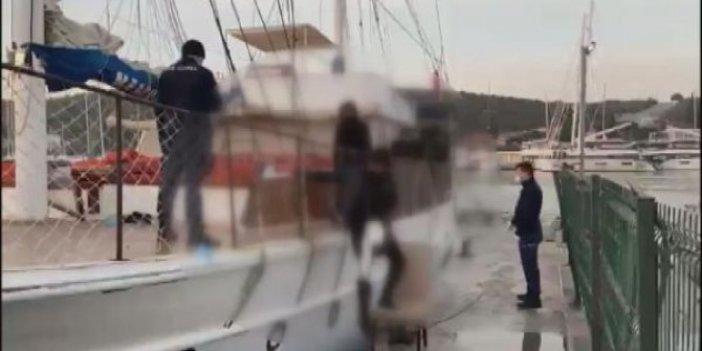 Göçmen kaçakçılığı operasyonunda onlarca kişi gözaltına alındı