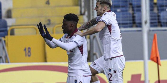 Trabzonspor Gençlerbirliği'ni yenerek çıkışını sürdürdü