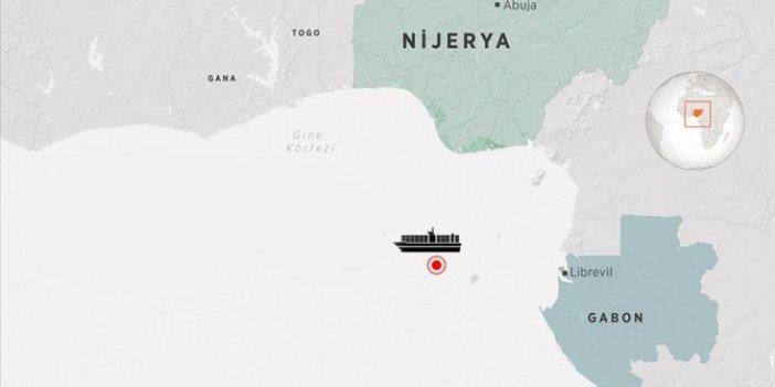 Kaçırılan Türk gemisiyle ilgili açıklama