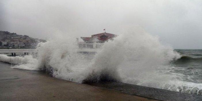 Meteorolojiden 3 il için fırtına uyarısı