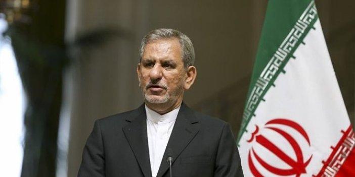 İran Cumhurbaşkanı Birinci Yardımcısı Cihangiri'den flaş ABD yaptırımı açıklaması