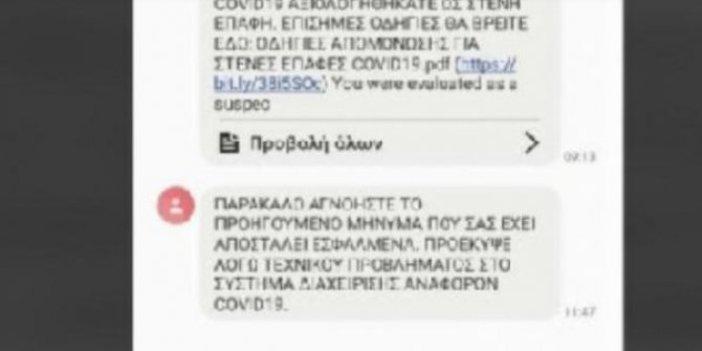 Kıbrıs'ta herkesin telefonuna gelen o mesaj paniğe neden oldu