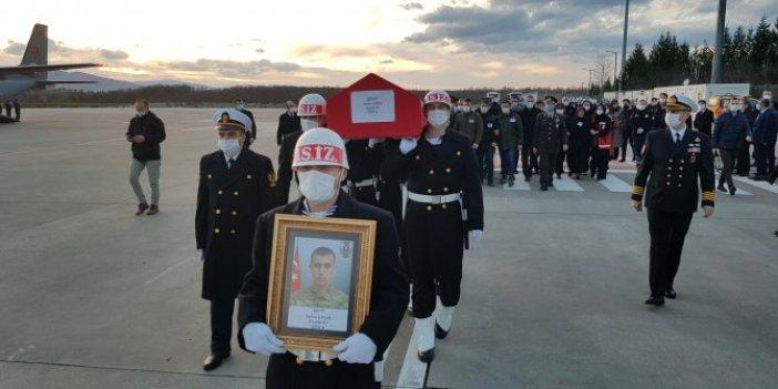 Şehidimiz Er Selim Gedik Kocaeli'de törenle karşılandı