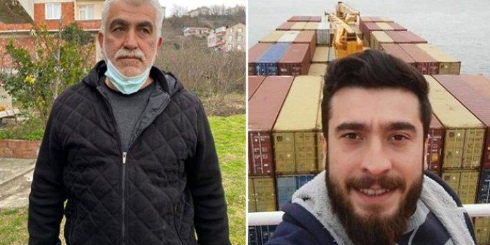 Gemiden kaçırılan stajyer gemici Hamza Orhan'ın babası konuştu: Korsanlar kahrolsun