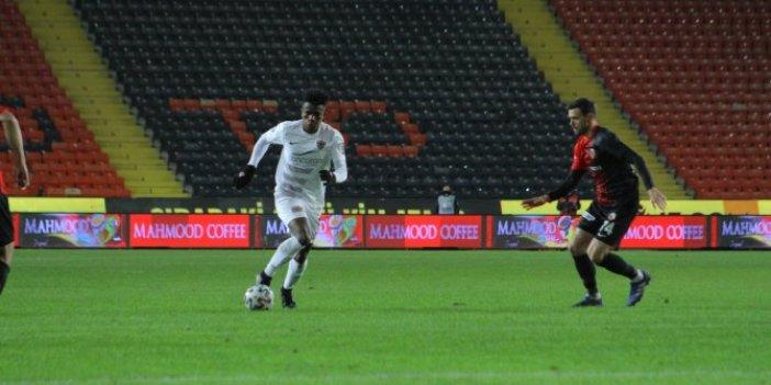 Gaziantep FK - Hatayspor maçında son dakikalar nefes kesti