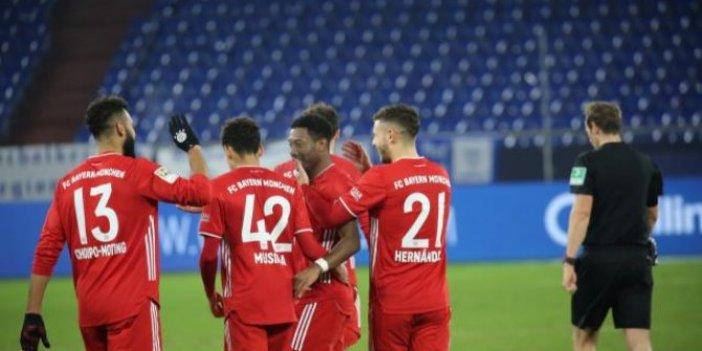 Bayern Münih, Schalke 04'e gol yağdırdı