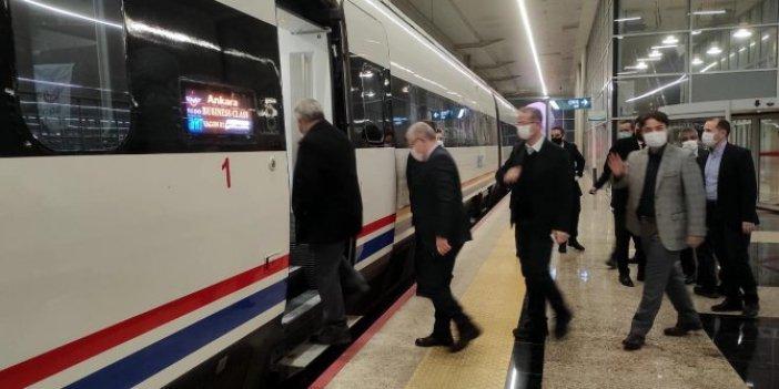 Ankara Sivas Yüksek Hızlı Tren testleri bugün başladı. Bin trene 2 saat sonra oradasın