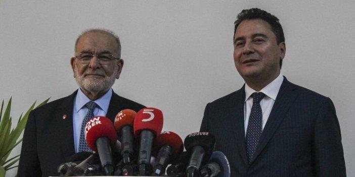 Ali Babacan'la bir araya gelen Temel Karamolaoğlu'ndan ittifak çıkışı