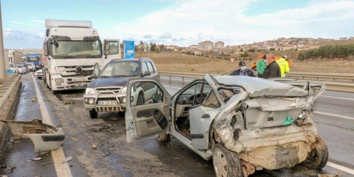 Edirne'de zincirleme kaza: 1 vatandaş hayatını kaybetti