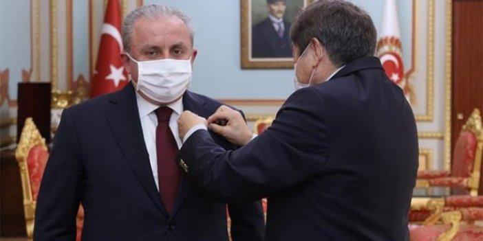 TBMM Başkanı Şentop'tan Abay Kunanbay madalyası paylaşımı