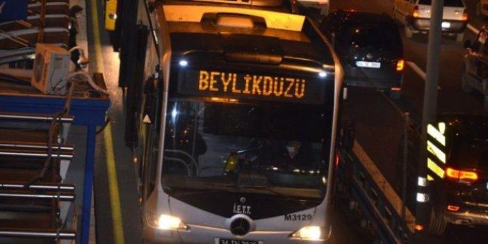 Metrobüslerde yeni dönem resmen başladı