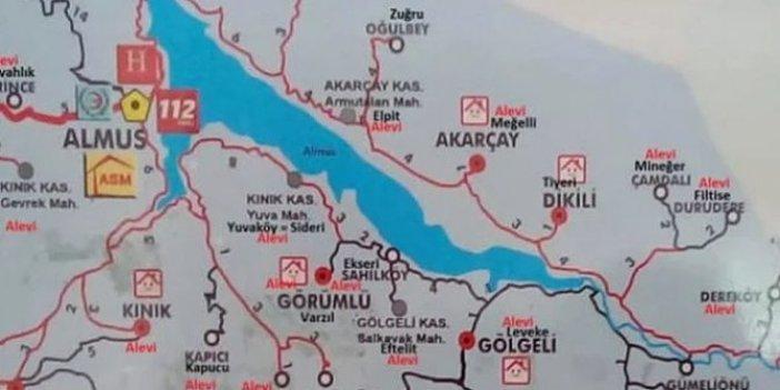 Aman provokasyona gelmeyin. Yalova'da Alevi evleri işaretlendi. Tokat'ta ise Alevi köyleri işaretlendi
