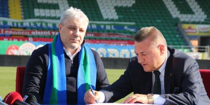 Çaykur Rizespor'da Sumudica resmi sözleşmeyi imzaladı