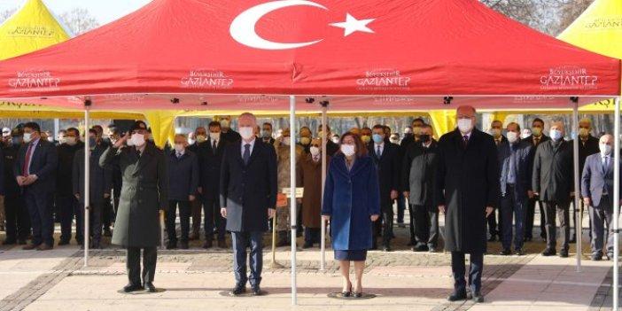 Gazi Mustafa Kemal Atatürk'ün Gaziantep'e geliş yıldönümü coşku ile kutlandı