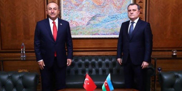 Dışişleri BakanıÇavuşoğlu Azerbaycanlı mevkidaşı Bayramov ile telefonda görüştü