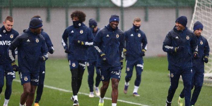 Fenerbahçe'de Rizespor maçı hazırlıkları başladı