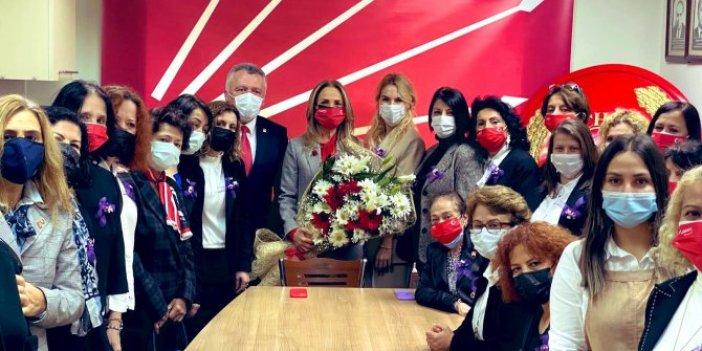 CHP Kadın Kolları Başkanı Aylin Nazlıaka Zonguldak'ta