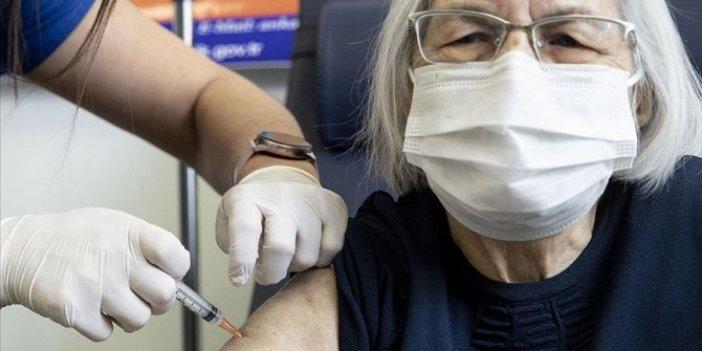Ankara'da 80 yaş ve üstündekilere korona aşısı yapılmaya başlandı
