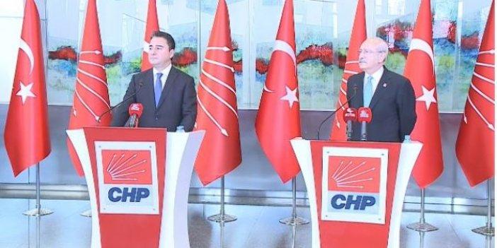 Kılıçdaroğlu ve Babacan'dan ortak açıklama