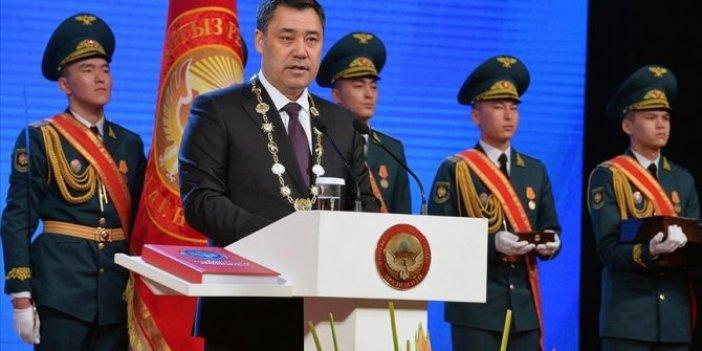 Kırgızistan'ın yeni Cumhurbaşkanı göreve başladı. Yüzde 79,20 oy aldı