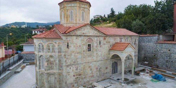 700 yıllık Michael kilisesi müze oluyor