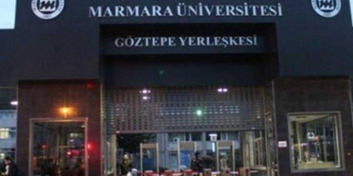 """Marmara Üniversitesi'nde """"Tayyip her zaman kazanır"""" soruşturması"""