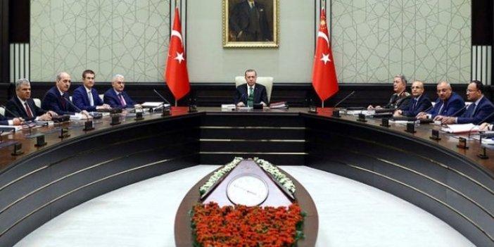 Yeni yılın ilk Milli Güvenlik Kurulu toplandı