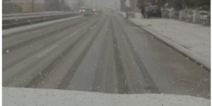 İzmir ve Bodrum'da kar yağdı. Seferihisar kar altında. Hayırdır İnşallah