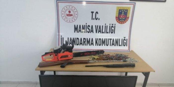 Araçları çamura saplanan hırsızlar yakalandı