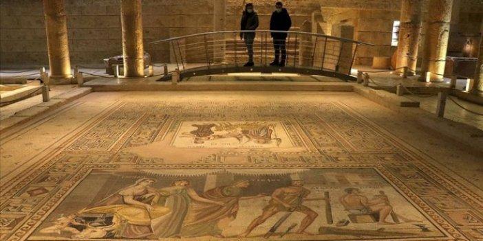 Zeugma Mozaik Müzesi'ni 1 milyon kişi ziyaret etti