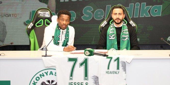 Konyaspor'a transfer olan Sekidika'dan ilk açıklama