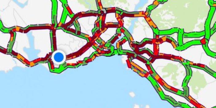 İstanbul'daki trafiğin son halini görmek için lütfen tıklayın. Ne kadar şanslısınız bizzat görün!