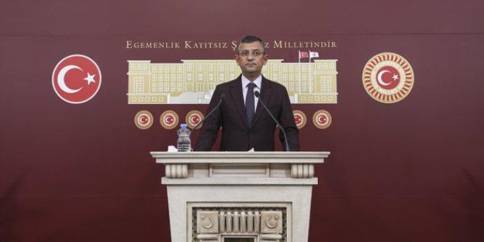 CHP'li Özel'den istifalarla ilgili açıklama