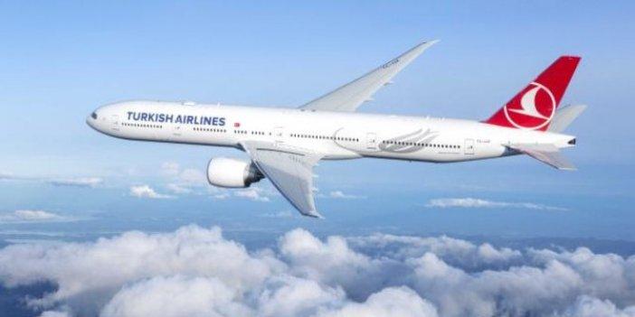 THY uçağı hava muhalefeti nedeniyle Tahran'a iniş yapamadı