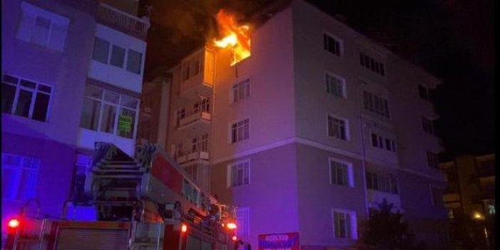 Konya'daki yangında acı bilanço 2 ölü
