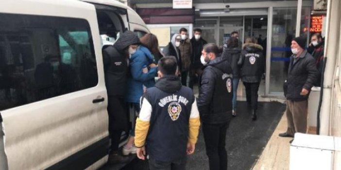 Gözaltına alınan Boğaziçi öğrencileri adliyeye sevk edildi